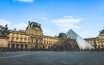 法国巴黎卢浮宫高清图片壁纸