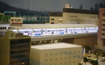 地铁汽车模型图片壁纸