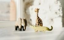 可爱的玩具动物小摆件图片壁纸2