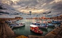 港口码头高清背景图片壁纸