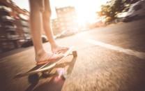 唯美滑板运动高清壁纸