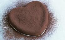 诱人巧克力蛋糕桌面壁纸