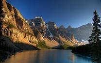 加拿大罗布森山图片壁纸大全