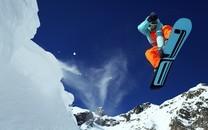 雪山滑雪图片壁纸