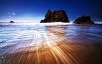 沙滩波浪图片-沙滩波浪图片壁纸大全