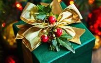 漂亮的圣诞礼物桌面壁纸