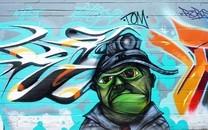 炫酷街头涂鸦图片壁纸