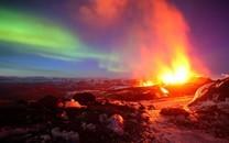 火山迸发图片-火山喷发图片大全