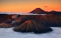 唯美优游雅的火山壁纸图片大全