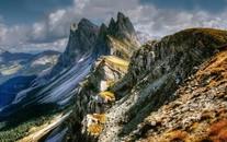 唯美大山天然风光高清图片壁纸