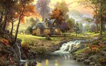 森林小屋图片-森林小屋图片大全