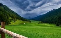 唯美青山自然风景高清图片壁纸