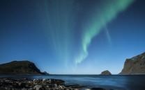 斑斓极光风景图片壁纸