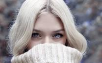 高清冬季清新美女图片壁纸