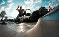 极限运动滑板图片壁纸