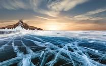 雪山冰川唯美风景高清桌面壁纸3