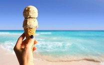 冰淇淋甜筒图片壁纸