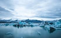震动陆地冰山风光图片壁纸