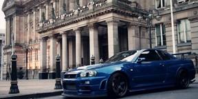 蓝色系列跑车壁纸