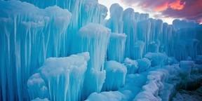 雪山冰川唯美风景高清桌面壁纸2