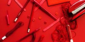 红色背景超清图片壁纸2