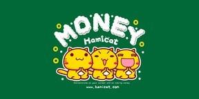 哈咪猫努力赚钱卡通图片壁纸