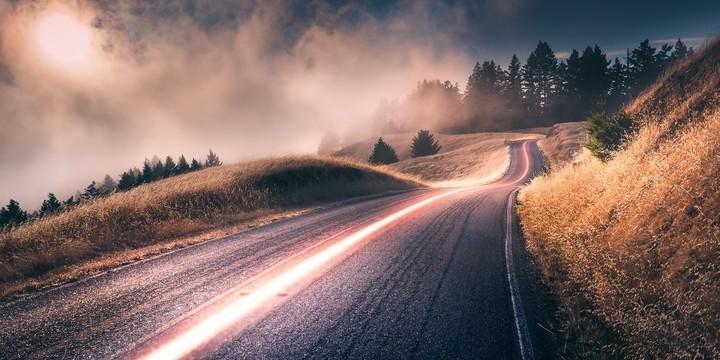 绝美道路风光图片壁纸3