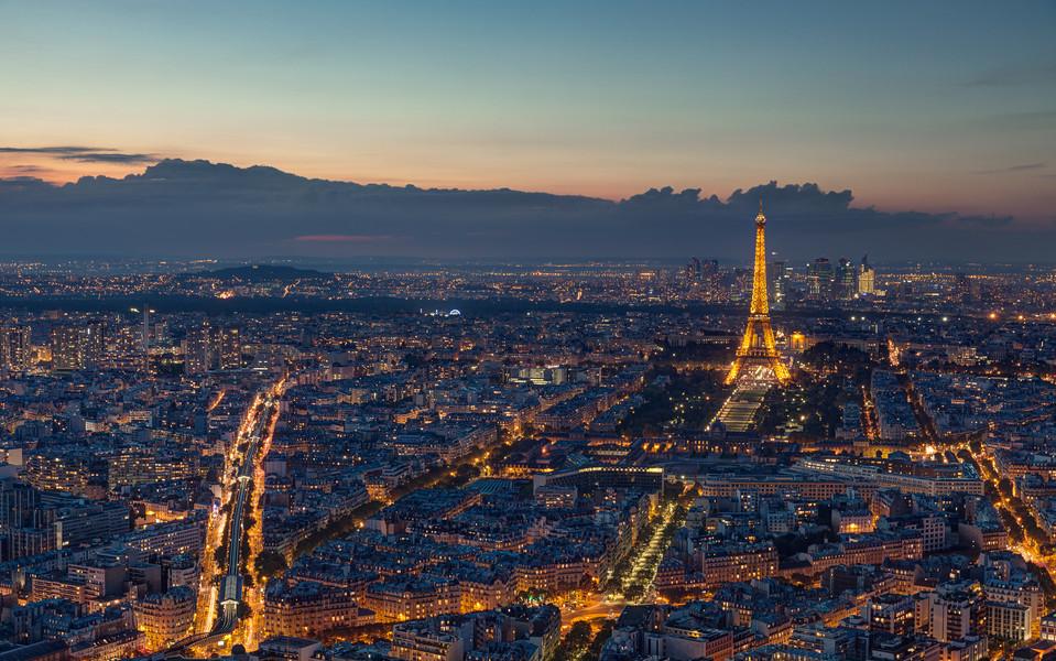 浪漫法国景色壁纸桌面