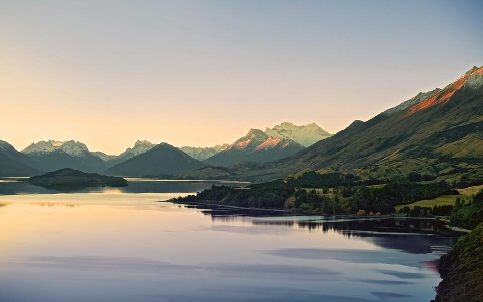 优美山水自然风景高清平板壁纸