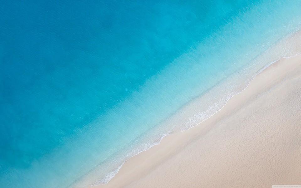 夏日海滩风景桌面高清壁纸
