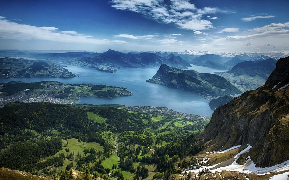 瑞士风景桌面壁纸