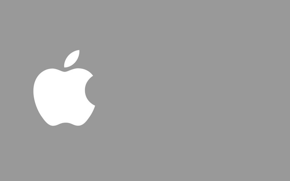 苹果logo桌面壁纸图片