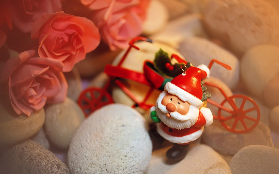圣诞节可爱桌面壁纸