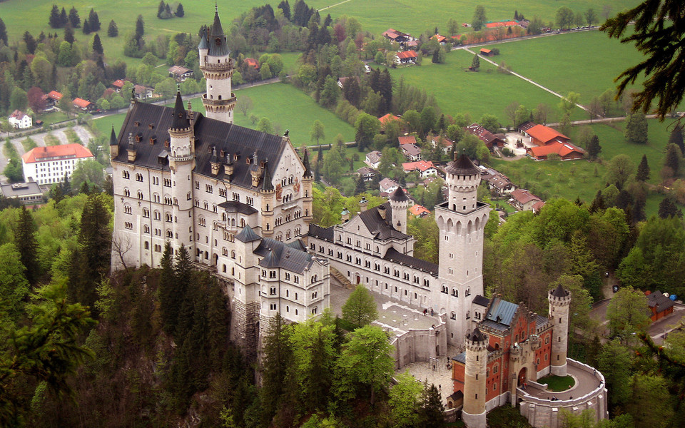 德国新天鹅城堡桌面壁纸