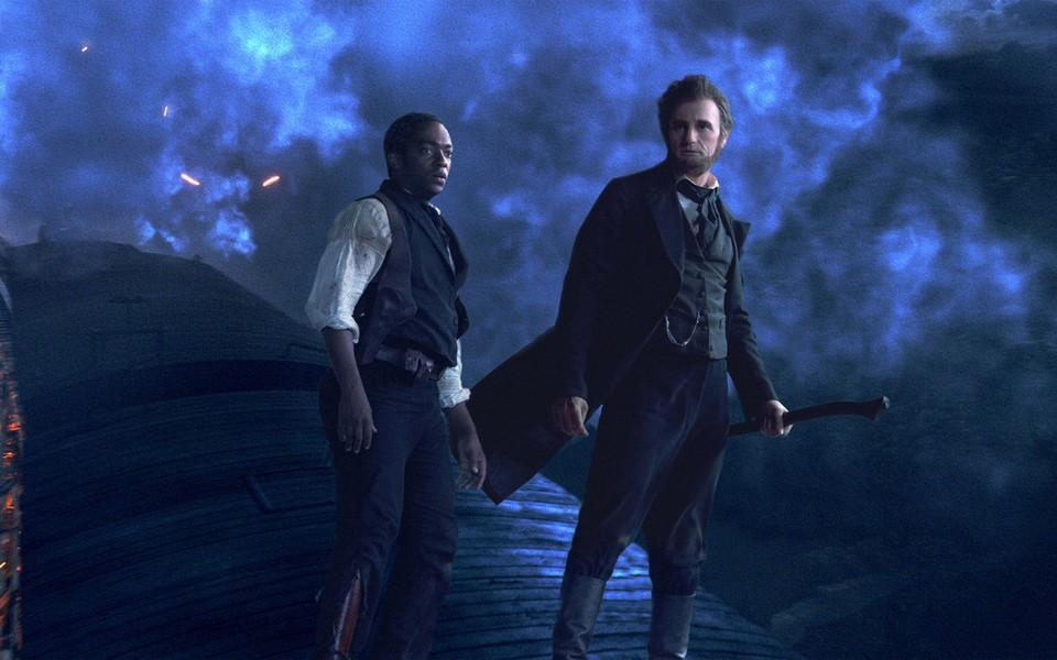 《亚伯拉罕·林肯:吸血鬼猎人》桌面壁纸