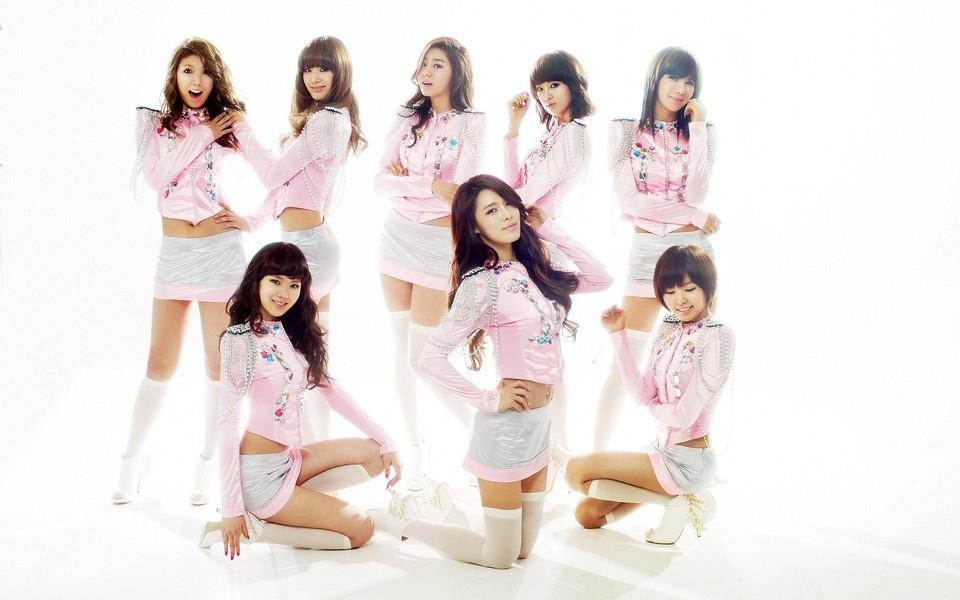 chi chi 韩国音乐女子组合写真壁纸
