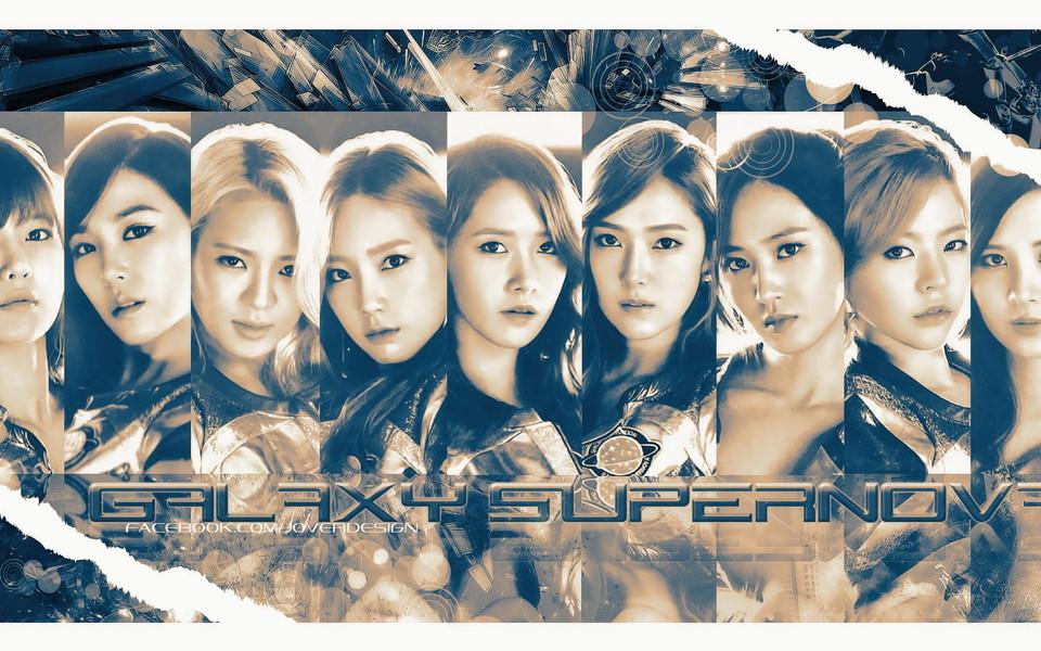 韩国少女时代明星组合高清桌面壁纸