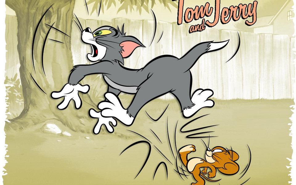 猫和老鼠高清桌面壁纸