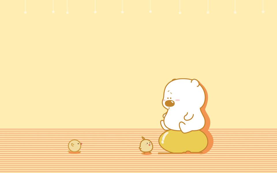 小囧熊超可爱壁纸(二)