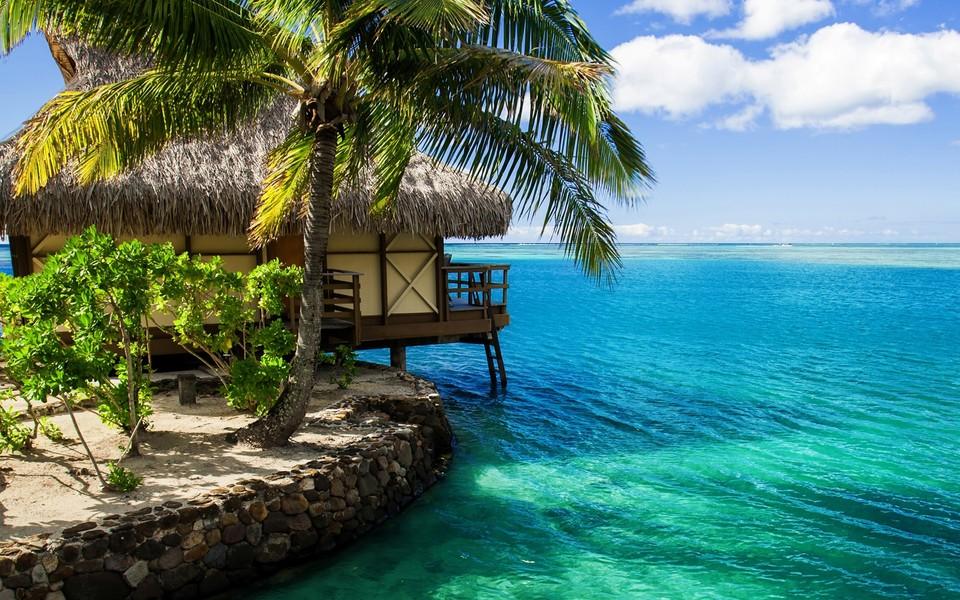 毛里求斯唯美海景壁纸