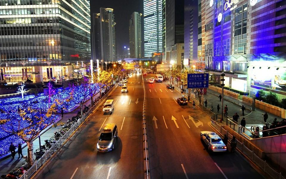 魅力中国城市风景壁纸桌面