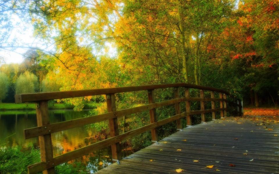 笔记本壁纸 自然风景壁纸 公园自然美景高清壁纸下载