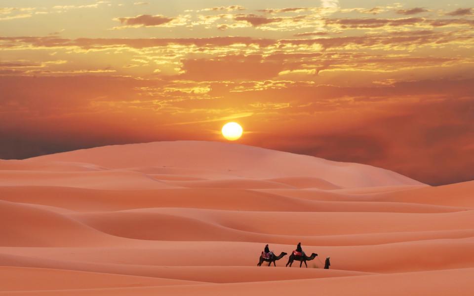 电脑壁纸 风景壁纸 撒哈拉沙漠高清壁纸下载
