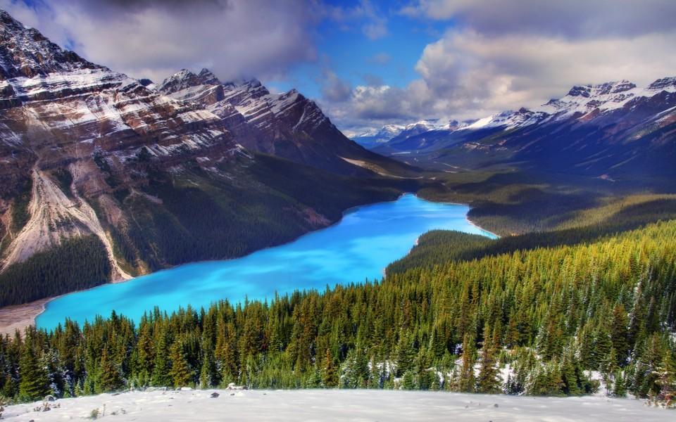 加拿大风景平板壁纸桌面