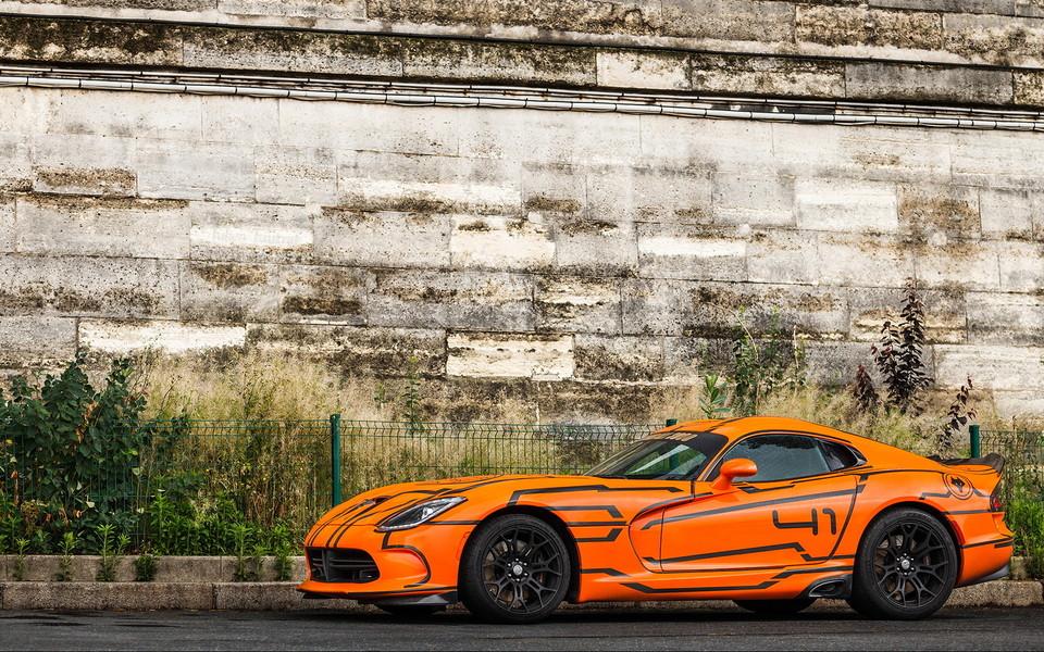道奇蝰蛇viper高清壁纸