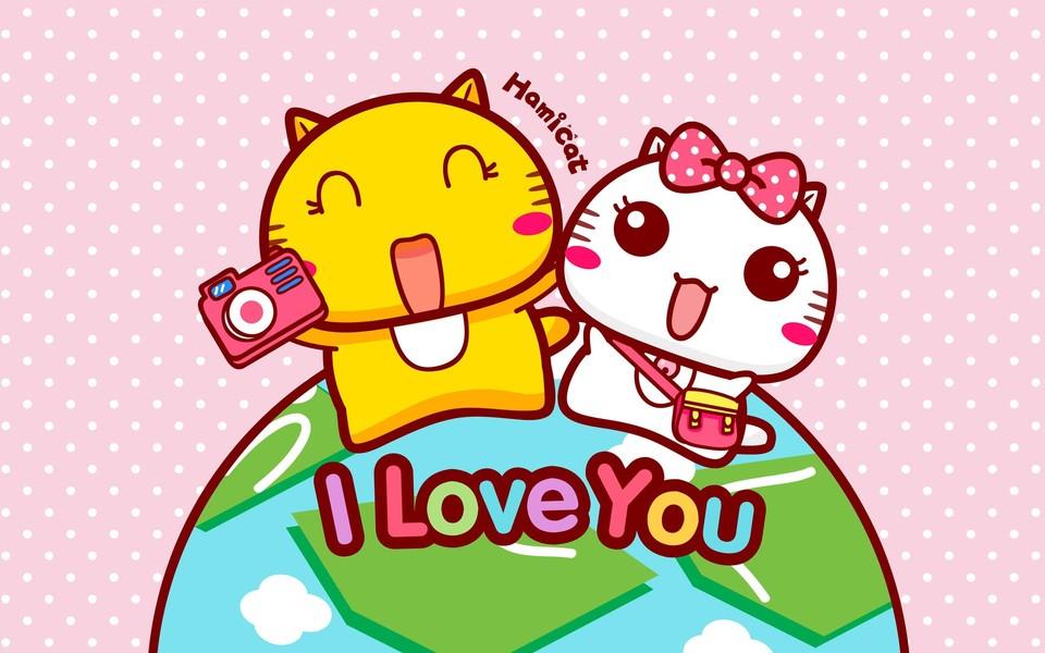 哈咪猫的爱情ipad壁纸图片