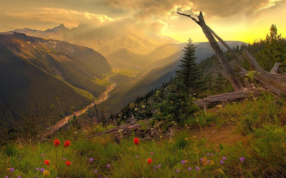 电脑壁纸 自然风景壁纸 高对比度精美高清风光壁纸下载