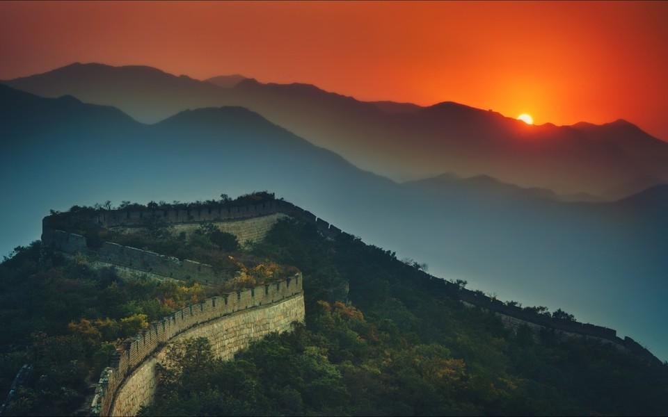 中国风景长城电脑壁纸