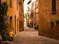 唯美欧洲小镇自然风景图片