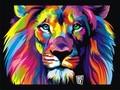 炫彩狮子图片-炫彩狮子图片大全
